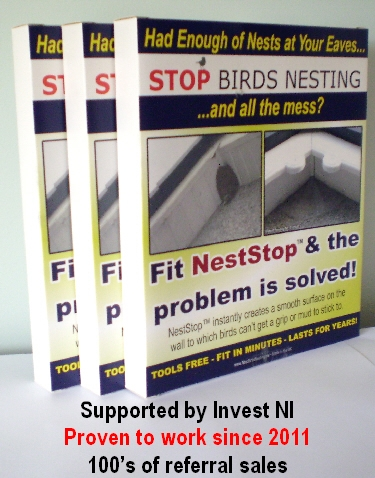 Stop Birds Nesting No More Nests Under Eaves